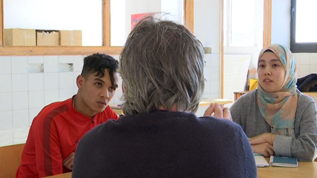 Hamza i Zuhal, participants de Prollema