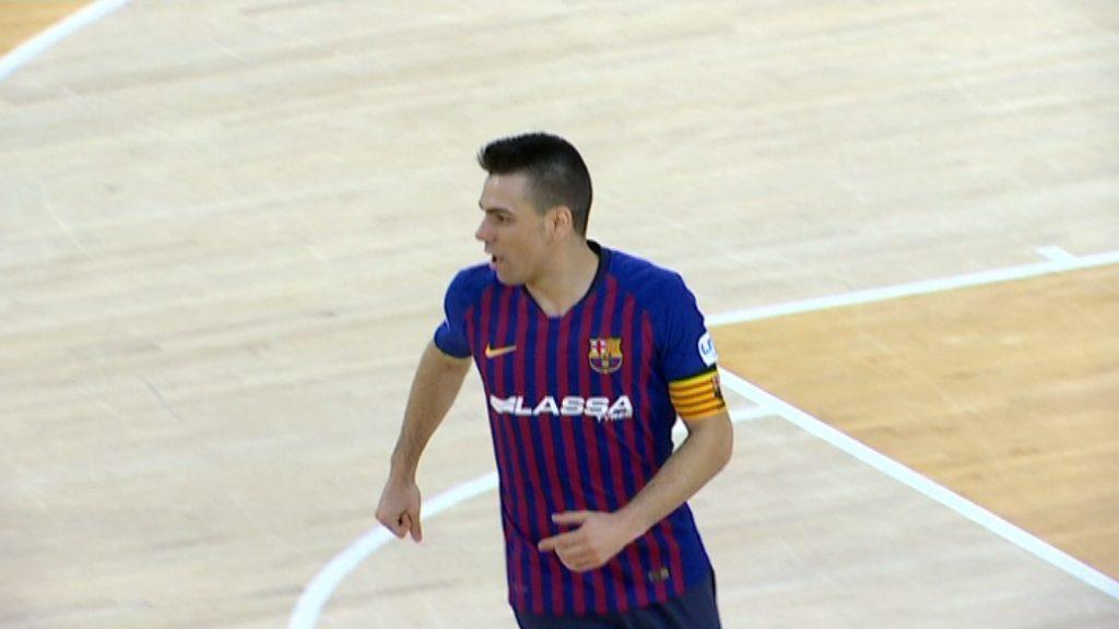Sergio Lozano marca un gol contra e Cartagena