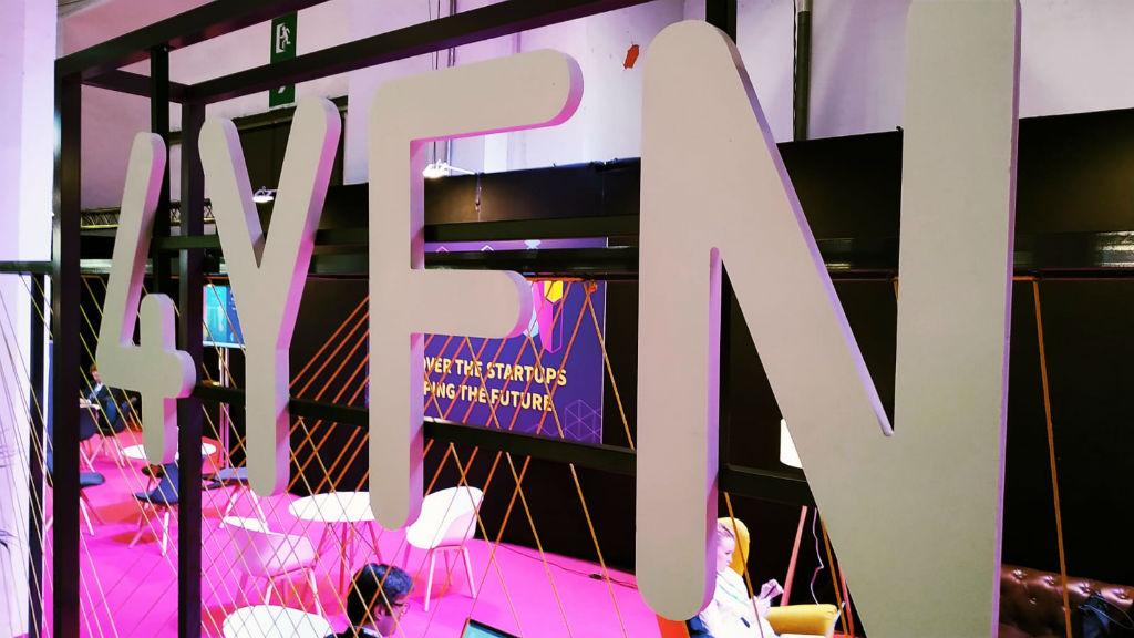 Saló destinat als emprenedors dins del saló 4YFN