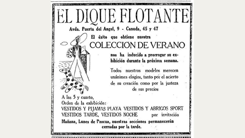 Anunci col·lecció estiu Dique Flotante