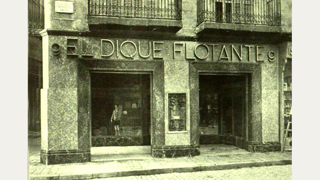 Exterior de la botiga Dique Flotante