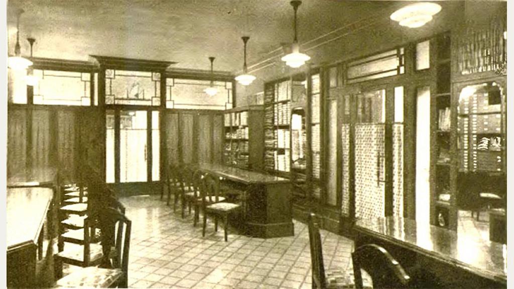 Interior de la botiga Dique Flotante