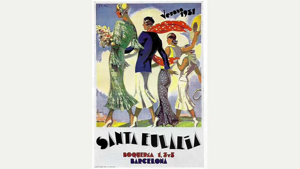 Anunci Magatzem Santa Eulalia 1931