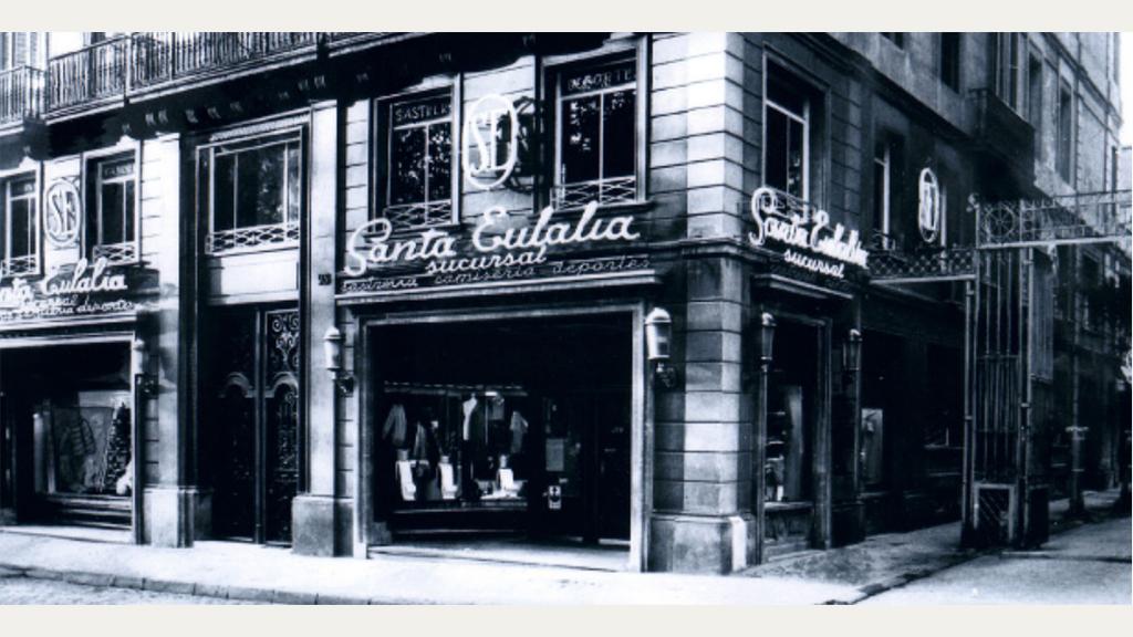 Botiga Santa Eulalia al Passeig de Gràcia