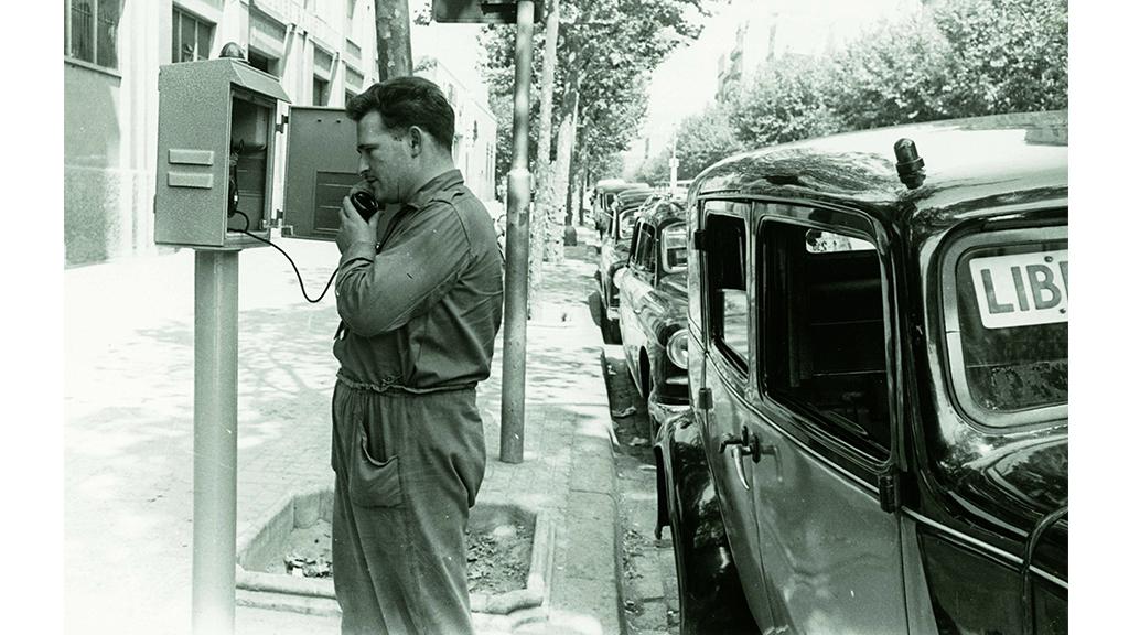 Servei telefon parades taxi 1961_OK