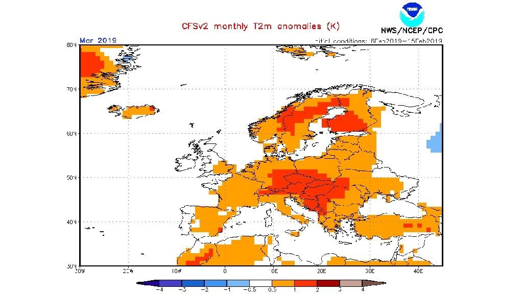 mapa anomalia temperatura