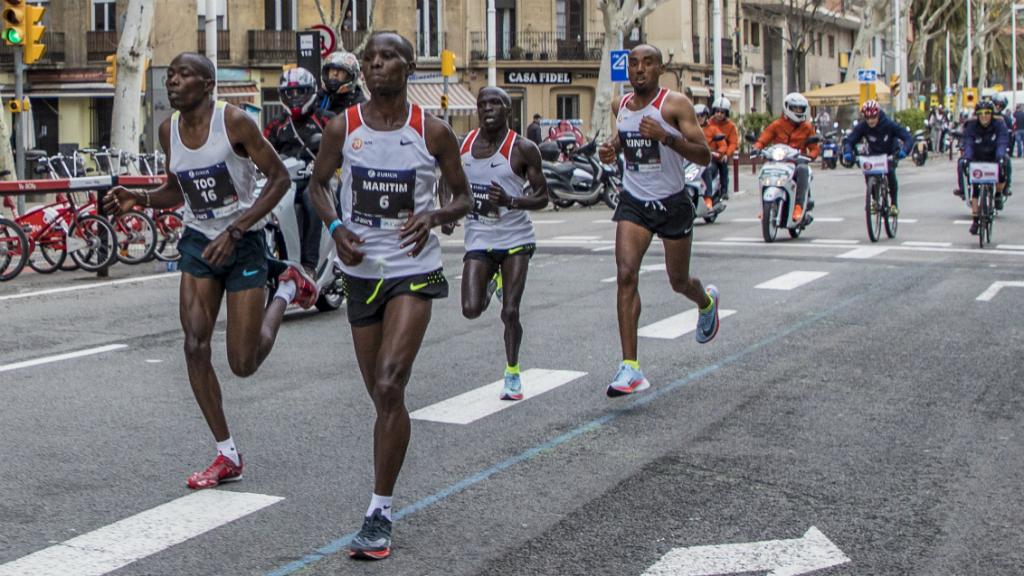 Anthony Maritim, guanyador marató Barcelona 2018