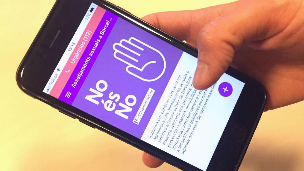 Aplicació mòbil BCN Antimasclista