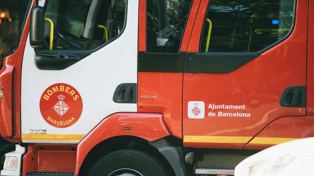 Vehicle del cos de Bombers de Barcelona