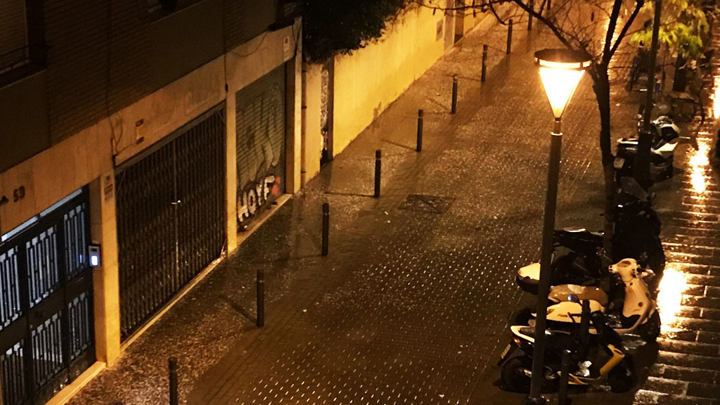 imatge calamarsa a Gràcia