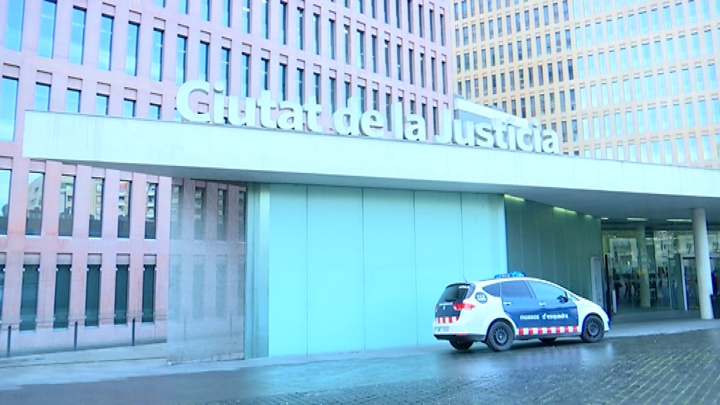 Ciutat de la Justícia Mossos d'Esquadra