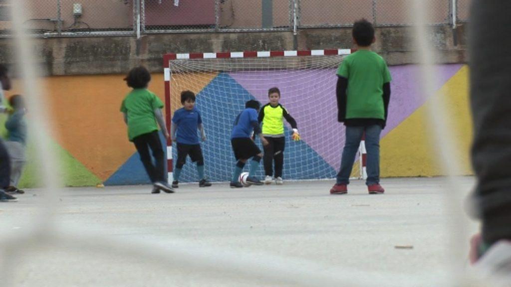 Convivim esportivament partit nens CEEB