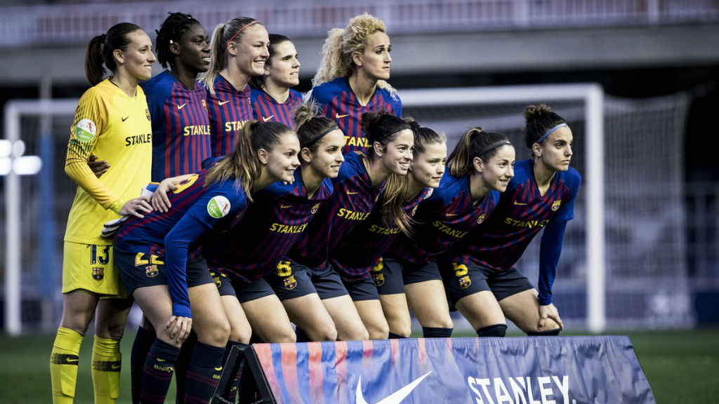 El Barça femení té la Lliga complicada