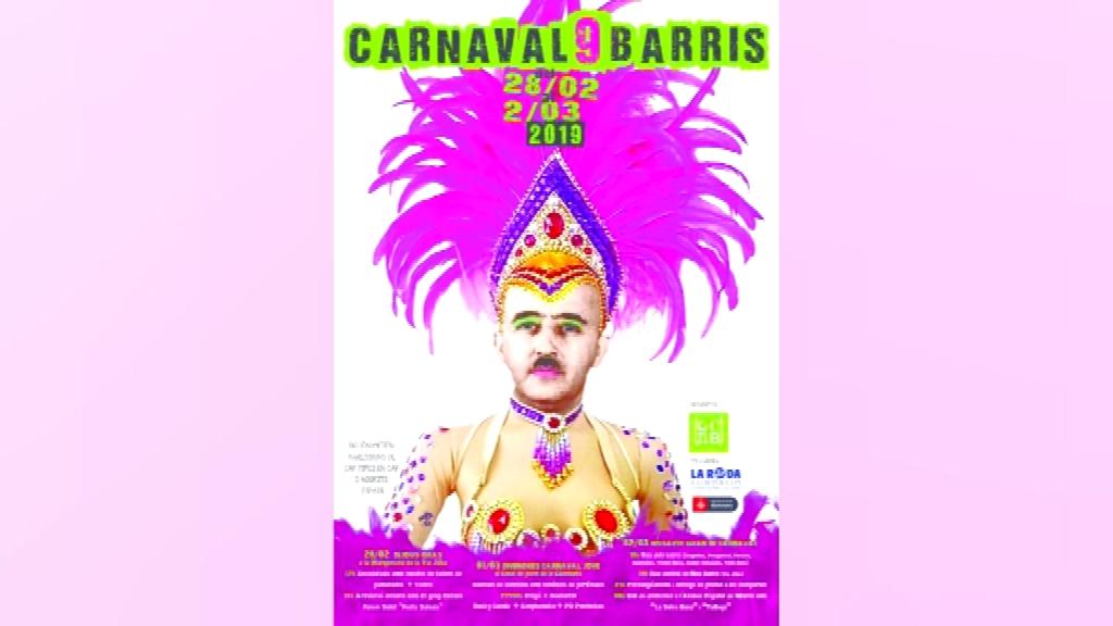 Franco cartell Carnaval Nou Barris