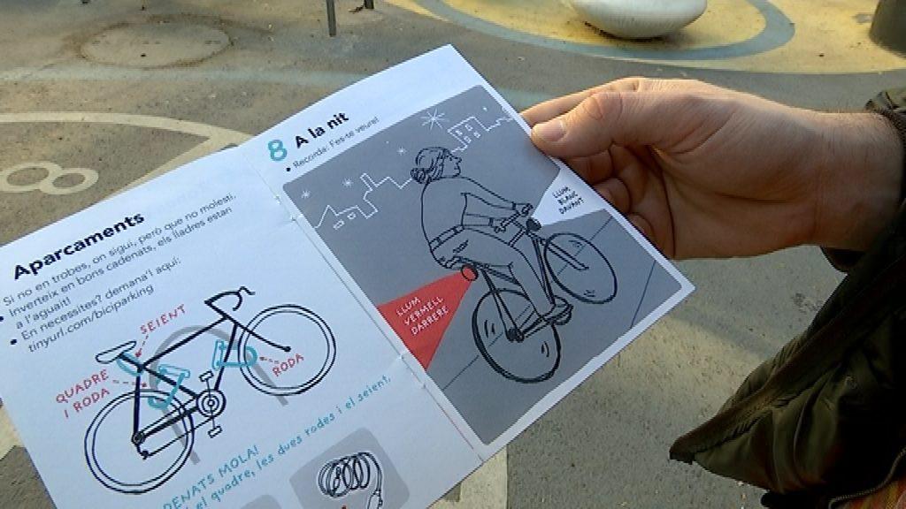 Campanya per la llum a les bicicletes de nit