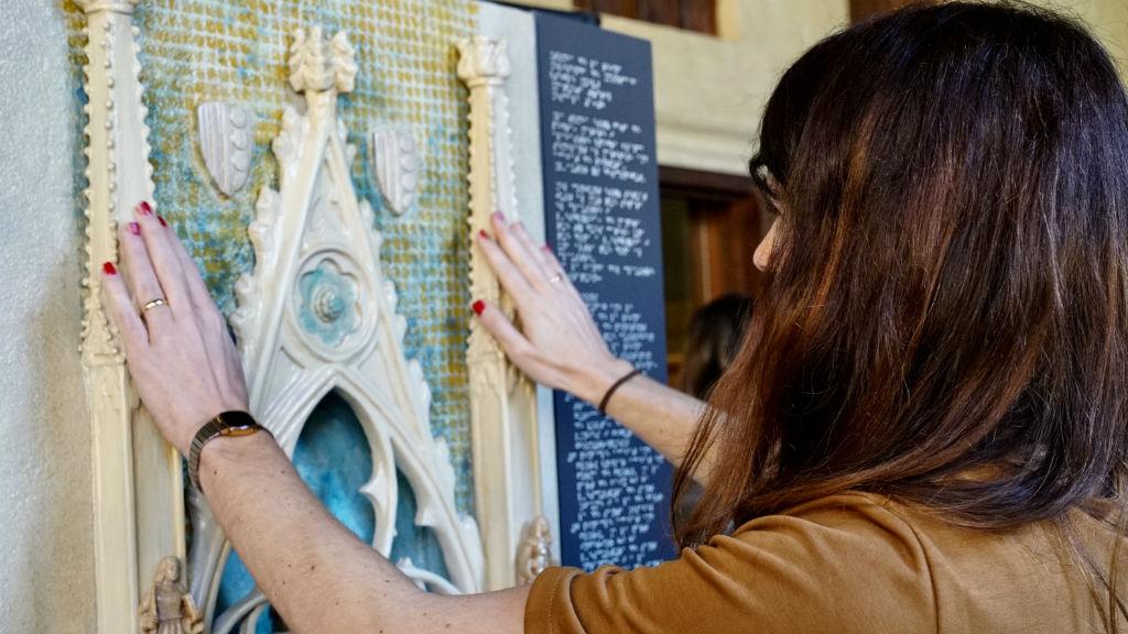 maqueta monestir pedralbes tomba reina Elisenda