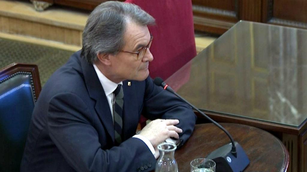 Artur Mas al judici del procés