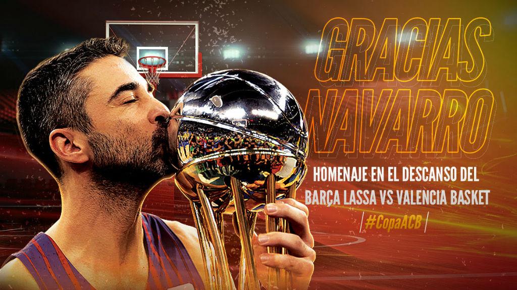 Navarro rebrà un homenatge de l'ACB