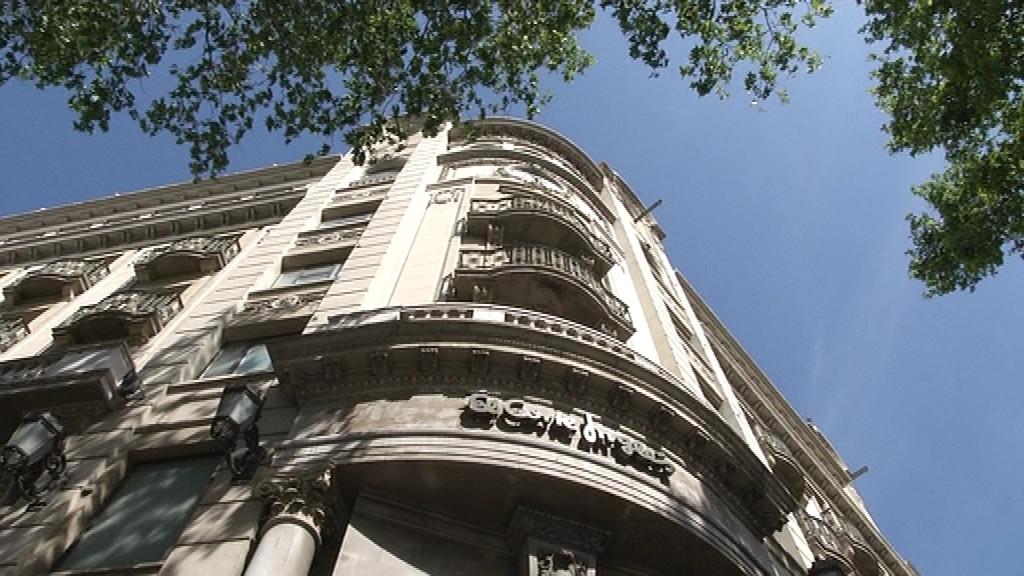seu banc central plaça Catalunya