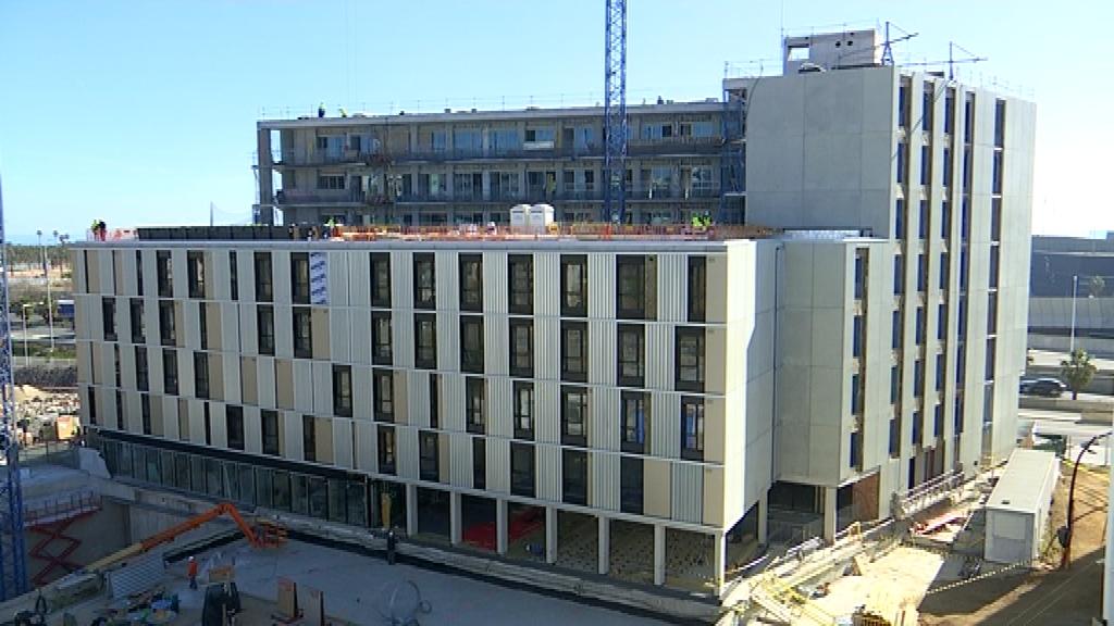 residència Campus Diagonal-Besòs UPC