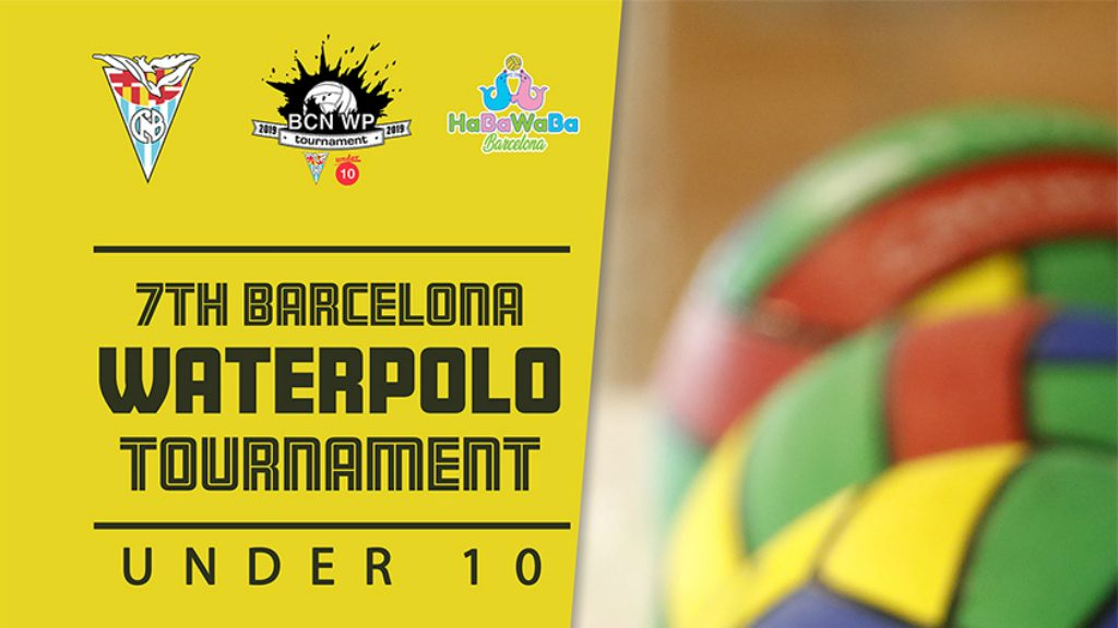 Cartell Under 10 waterpolo