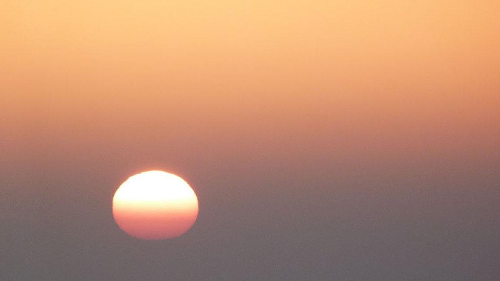 El sol surt aquest divendres. Foto: Xavi Cabo