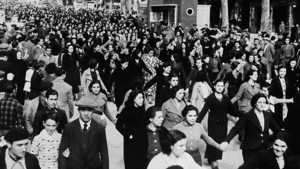 primera vaga feminista barcelona
