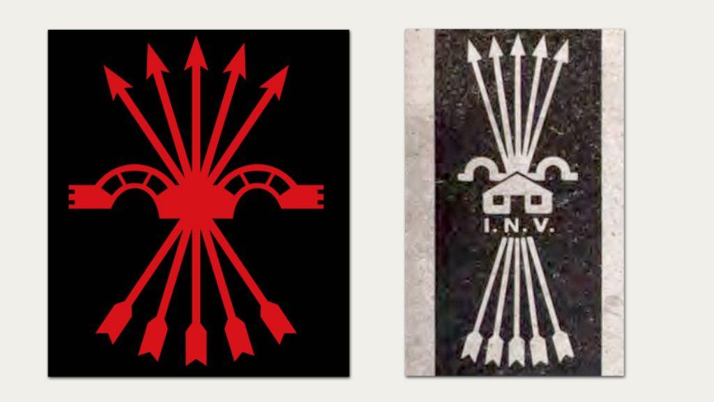 simbologia falange i inv