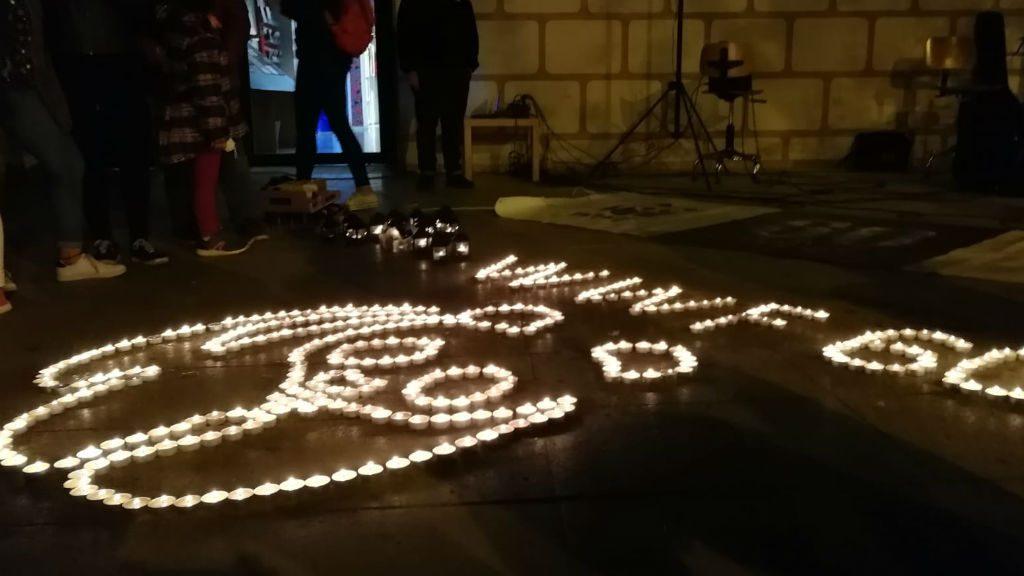 Espelmes a Can Basté - Hora del Planeta