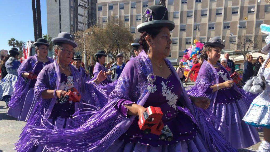 Carnaval a la Barceloneta