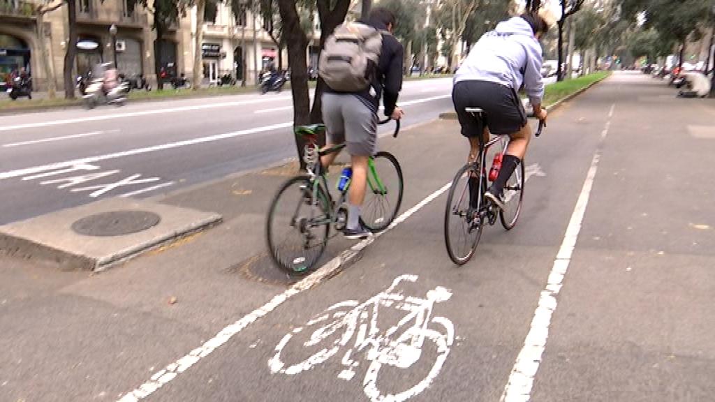 carril bici Diagonal
