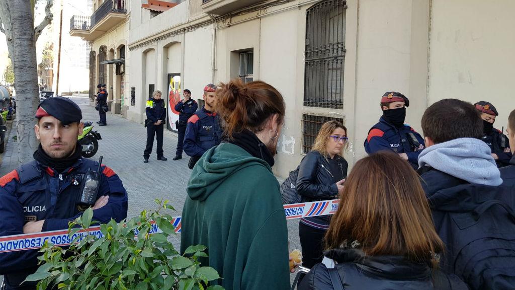 Desnonament Ciutat de la Granada 92