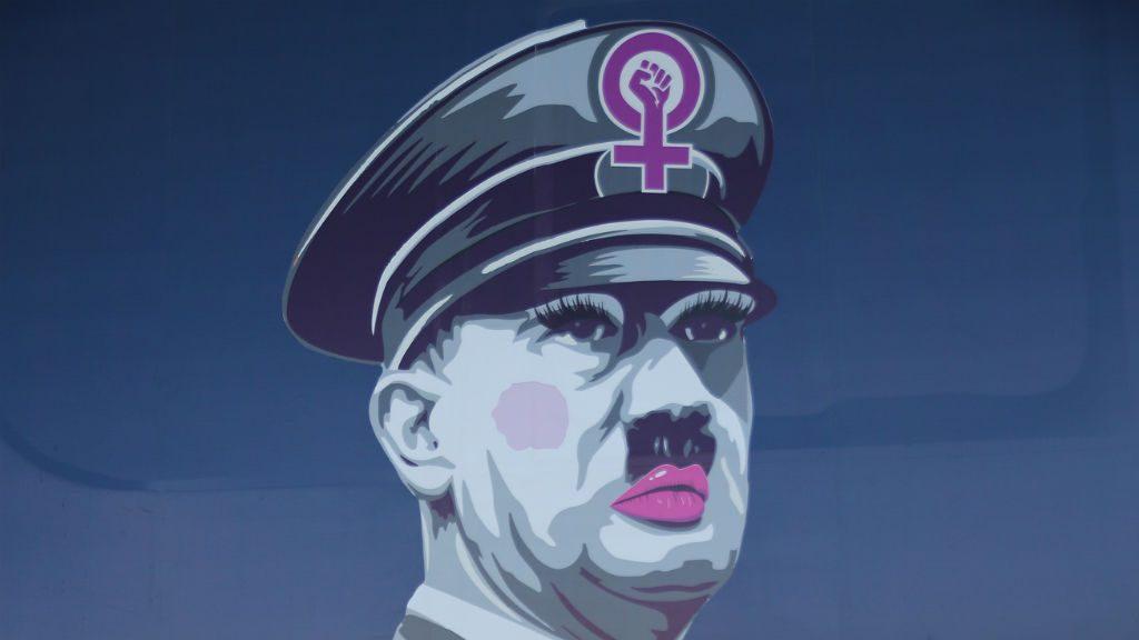 Dibuix Hitler Bus HazteOir