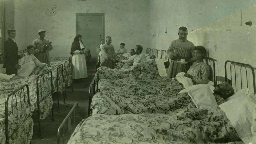hospital mar tifus 1914