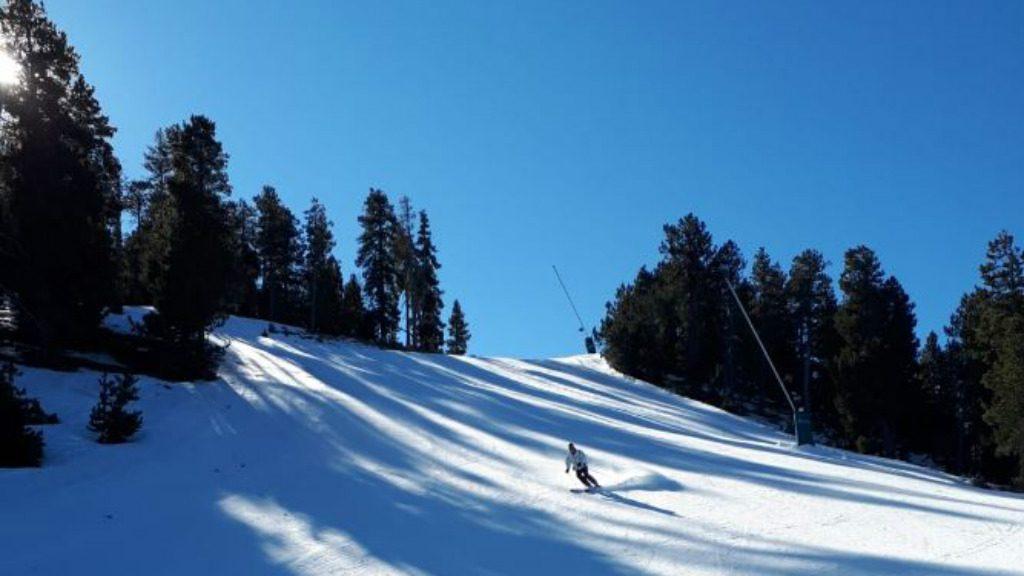 Esquiador a La Molina