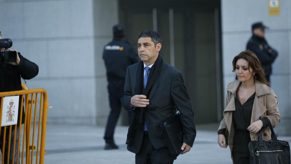 Josep Lluís Trapero a l'Audiència Nacional