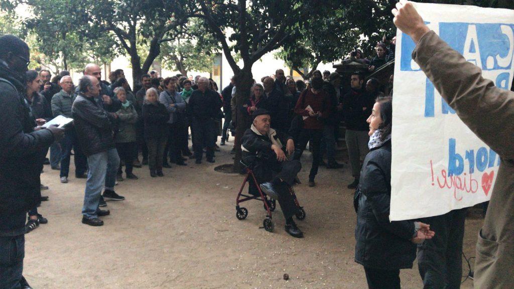 Manifestació pel CAP Raval Nord
