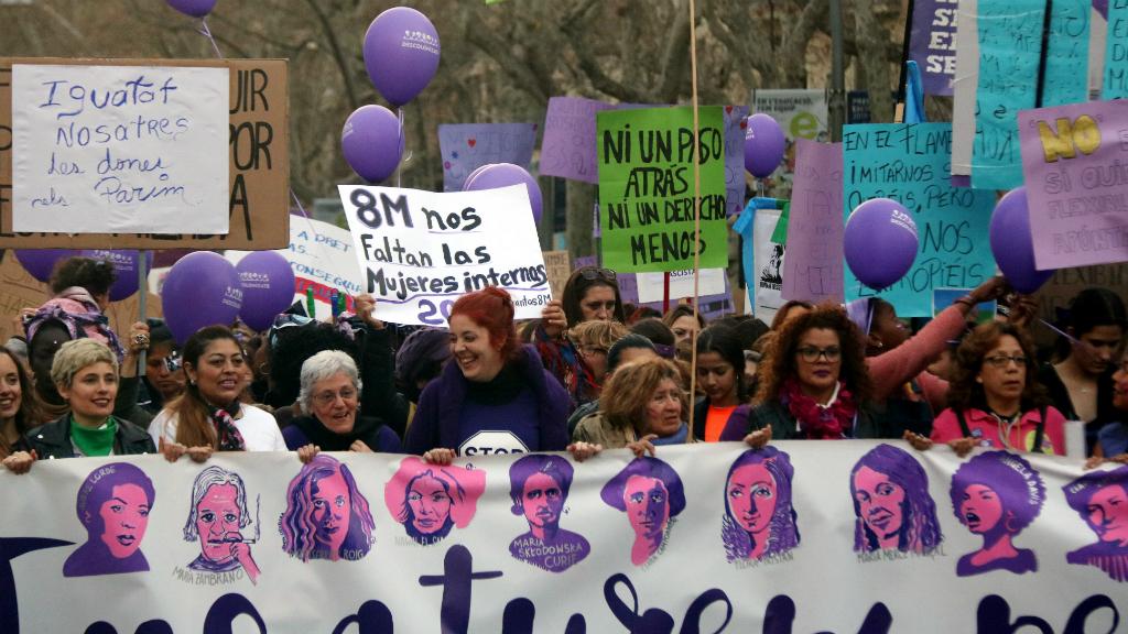 manifestacio 8 març feminista