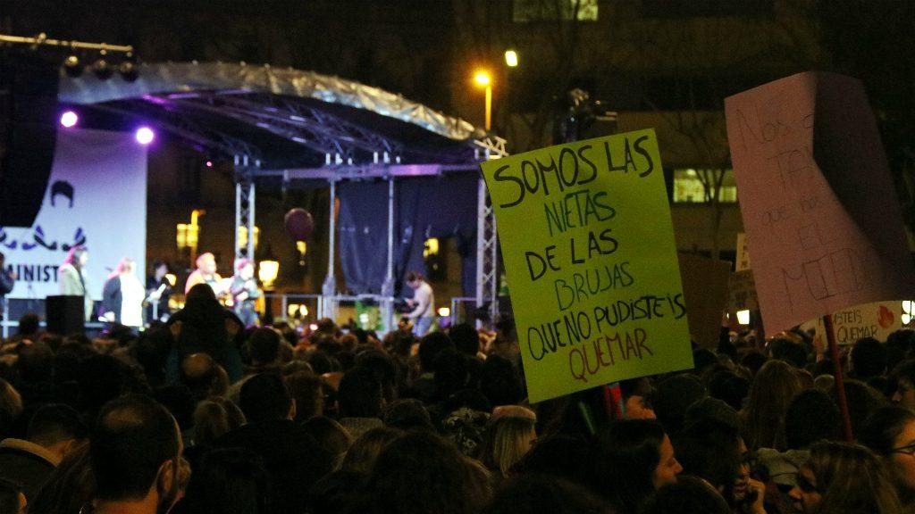 Manifestació 8 de març