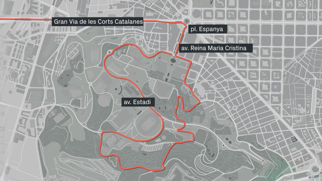 Talls de trànsit de la Volta Ciclista a Catalunya