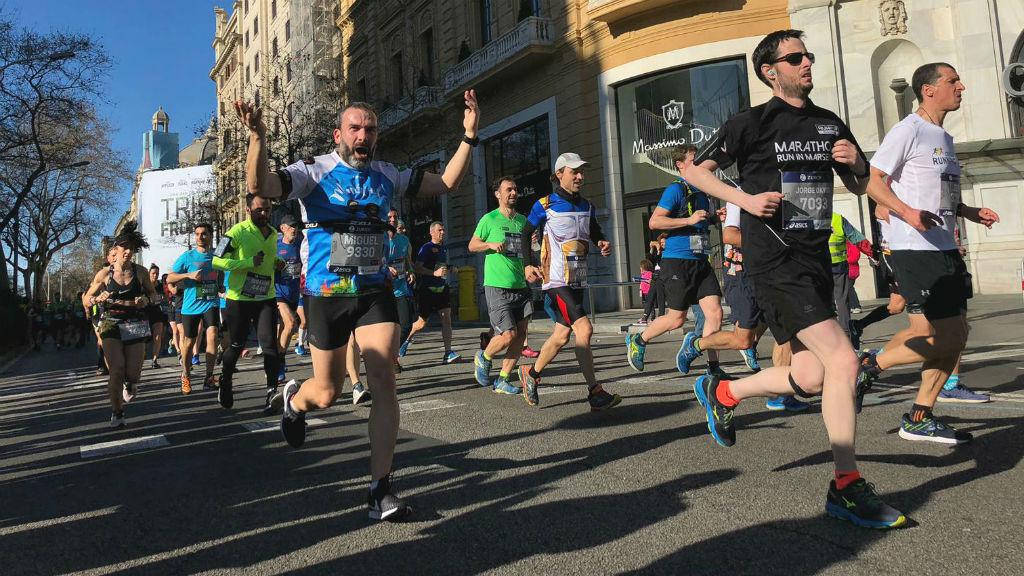 Corredors de la Marató de Barcelona