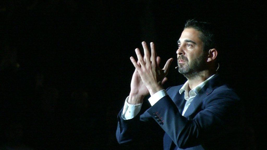 Comiat Juan Carlos Navarro amb samarreta al Palau