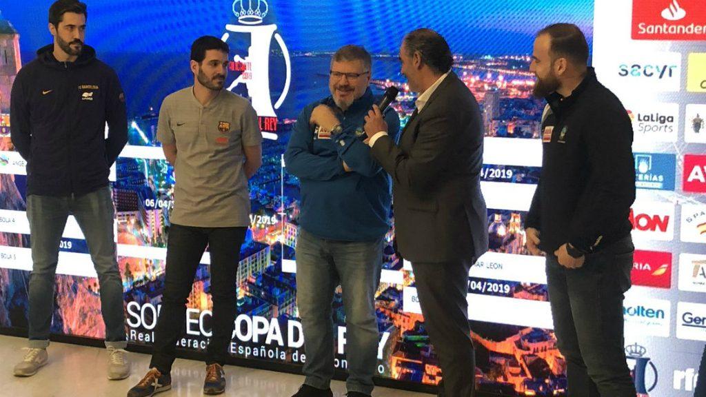 Sorteig Copa Rei Handbol 2019