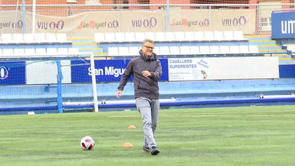 David Vilajoana, entrenador del CE Europa