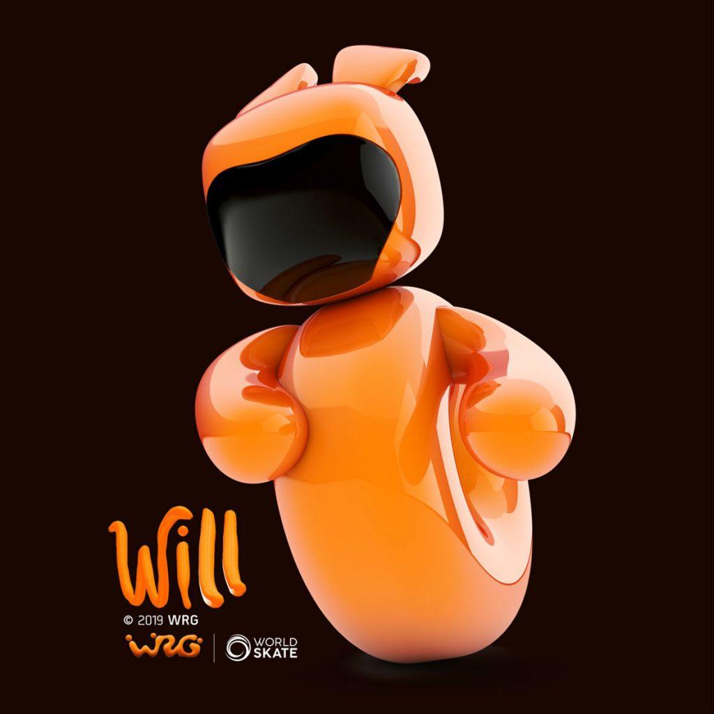 Will, la mascota dels World Roller Games