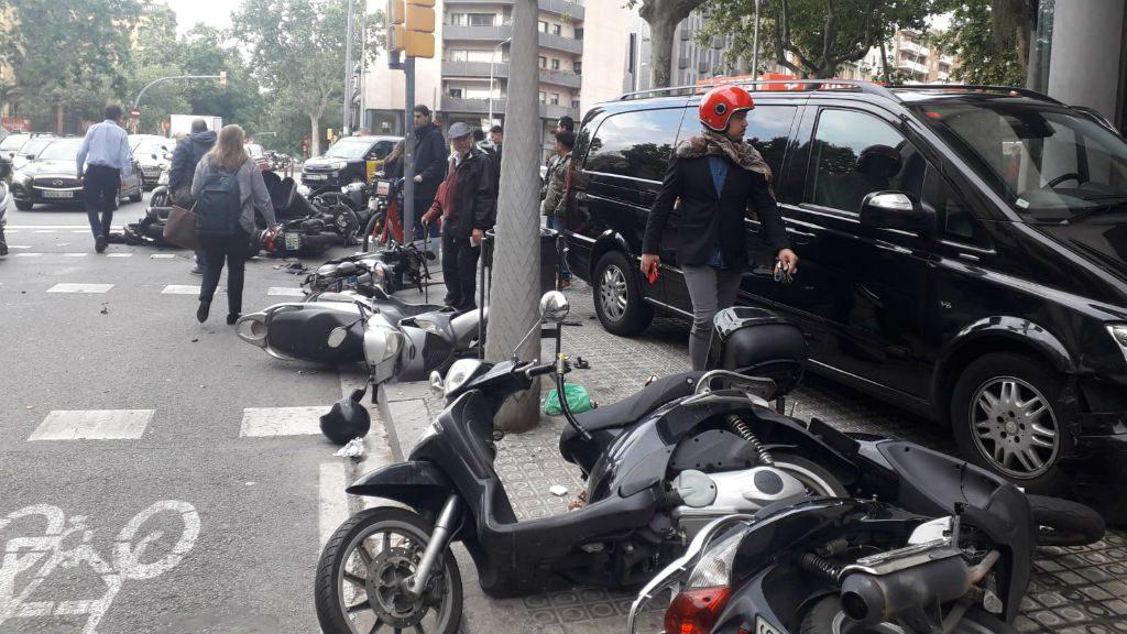 Accident carrer Urgell