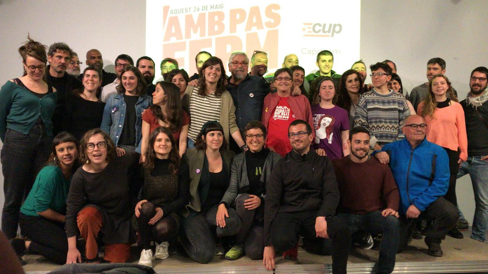 Intrgrants de la llista de la CUP a les eleccions municipals