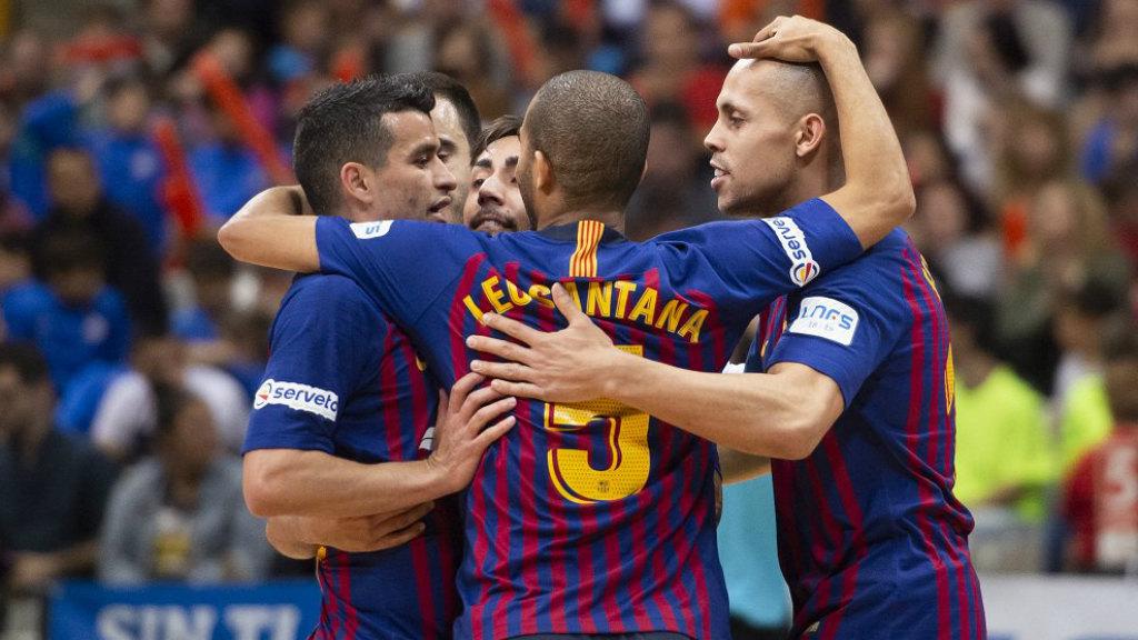 Barça futbol sala lliga regular