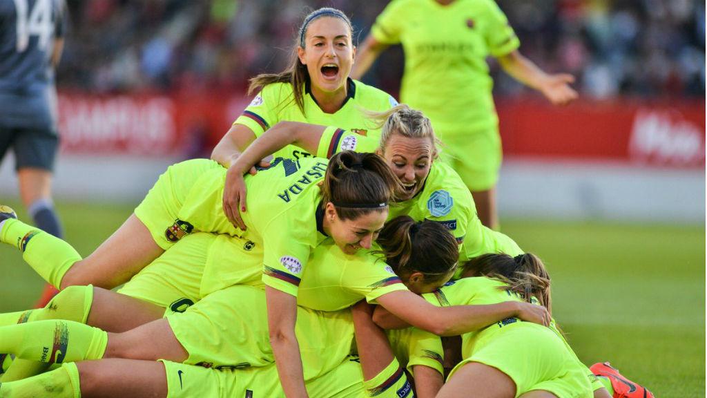 El Barça femení guanya el Bayern