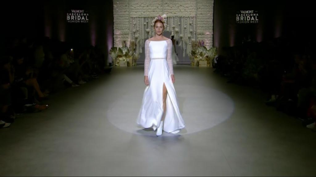 desfilada de la barcelona bridal week